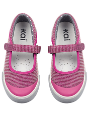 Kai by See Kai Run Florence Hot Pink/Dots
