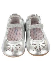 Robeez Mini Shoez Nora Silver