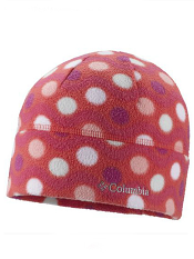 cbd9b8aa26c Columbia Youth Baddabing Hat Red Hibiscus Wavy Dot