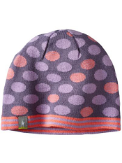 SmartWool Kids Reversible Wintersport Dot Hat Lilac