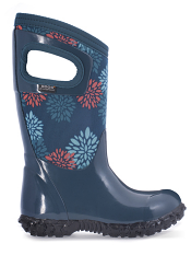 Bogs Kids' Insulated Boots North Hampton Pompons Legion Blue Multi