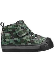 KEEN Coronado High Top Leather Digital Camo/Black Toddler/Kids