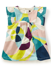 Tea Collection Balla Abstract Baby Dress (Baby Girls)