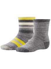 SmartWool Baby Sock Sampler Light Gray Heather