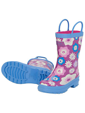 Hatley Graphic Flowers Rain Boots