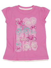 Hatley Graphic Tee Lots Of Bikes