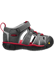 KEEN Seacamp II CNX Magnet/Racing Red (Toddler)