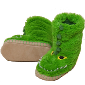 Hatley Slouch Slippers Alligator