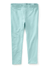 Tea Collection Skinny Solid Leggings Canal Blue (Girls)