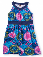 Tea Collection Nigerian Banded Dress (Girls)