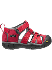 KEEN Seacamp II CNX Racing Red/Gargoyle (Toddler)