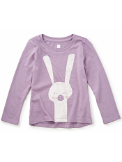 Tea Collection Usagi Graphic Tee (Girls)
