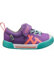 KEEN Encanto Sneaker Purple Heart/Fusion Coral (Toddler)