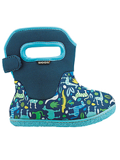 Baby Bogs Waterproof Boots Classic Zoo Blue