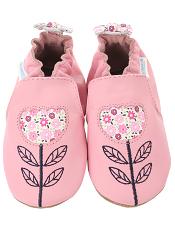 Robeez Tina Tulip Prism Pink (Soft Soles)