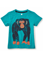 Tea Collection Knuckle Down Graphic Tee (Boys)