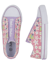 "Hatley ""Flower Power"" Fresh Flowers Kids Canvas Shoes"
