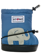 Stonz Booties Elephant Slate Blue