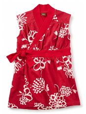 Tea Collection Kira Kira Wrap Dress (Girls)