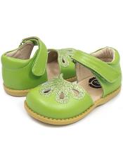 Livie & Luca Petal Grass Green (Toddler/Kids)