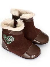 Robeez Mini Shoez Pearl Brown