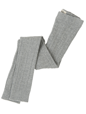 Hatley Cable Knit Tights Athletic Grey