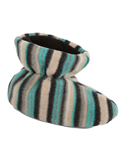 Acorn Easy Bootie Neutral Fun Stripes