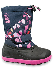 Kamik Skiland2 Navy/Pink Kids/Youth