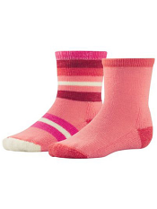 SmartWool Baby Sock Sampler Bright Coral