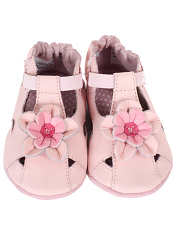Robeez Pretty Pansy Pink (Soft Soles)