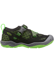 KEEN Komodo Dragon Black/Jasmine Green (Kids/Youth)