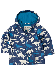 Hatley Silhouette Dinos Lined Raincoat