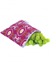 Itzy Ritzy Snack Happens Snack Bag Modern Damask