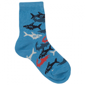 Country Kids Shark Sock Ocean