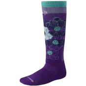 SmartWool Girls Ski Racer Purple