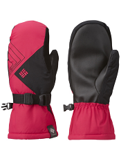 Columbia Snow Raid Mitten Bright Rose