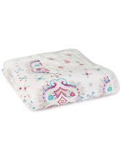 aden + anais Silky Soft Dream Blanket Flower Child - Kaleidoscope