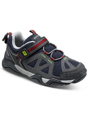 Stride Rite Made 2 Play Ian Navy/Grey Kids
