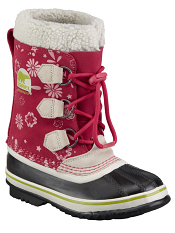 Sorel Children's 1964 Pac Graphic Bright Rose Coral Pink