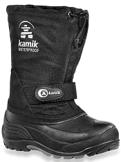 Kamik Waterbug5 Black Kids/Youth M/W
