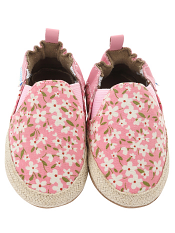 Robeez Floral Mania Light Pink (Soft Soles)