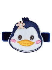 No Slippy Hair Clippy Winnie Penguin Navy