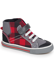 Kai by See Kai Run Dane Red Plaid