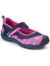 pediped Flex Minnie Navy/Pink