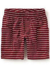 Tea Collection Rumble Tumble Baby Shorts Rojo (Baby Boys)