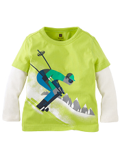 Tea Collection Ski Garmisch D-Decker Acid Green
