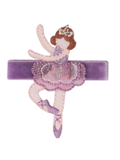 No Slippy Hair Clippy Hannah Dancers Lavender