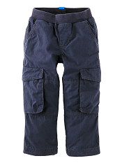 Tea Collection Lined Cargo Pants Indigo (Boys)