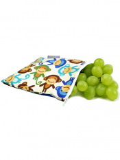 Itzy Ritzy Snack Happens Snack Bag Funky Monkey Remix