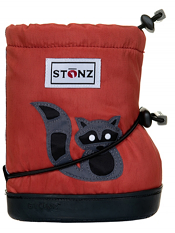 Stonz Booties Racoon Red